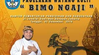 Video Wayang Kulit KEMENDIKBUD KI ENTHUS SUSMONO- BIMO NGAJI/MA'RIFAT DEWO RUCI MP3, 3GP, MP4, WEBM, AVI, FLV September 2018