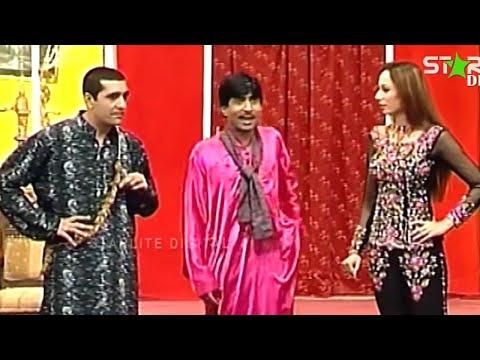 Best Of Zafri Khan, Sajan Abbas and Iftikhar Thakur New Pakistani Stage Drama Full Comedy Funny Clip