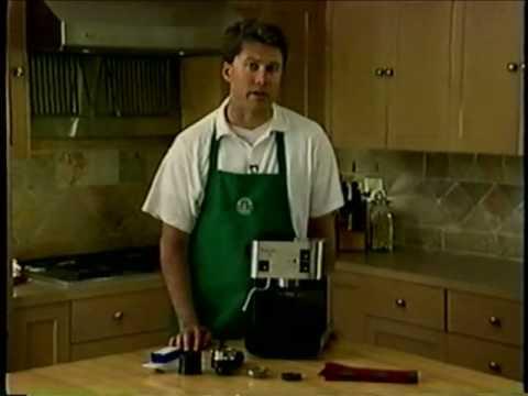 Starbucks Barista home espresso machine – Part 2