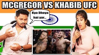 Video Indian Reaction On McGregor VS khabib UFC | Full Fighting Match | Krishna Views MP3, 3GP, MP4, WEBM, AVI, FLV Februari 2019