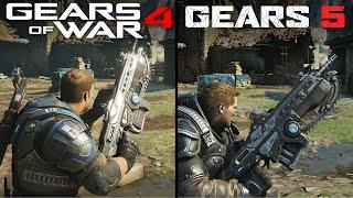 Gears 5 vs Gears of War 4   Direct Comparison