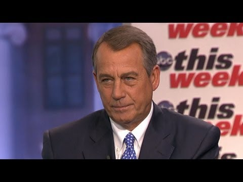 John Boehner - The House speaker on dueling budget proposals and prospects for a grand bargain.