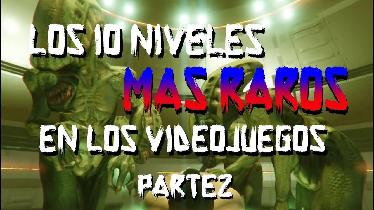 LOS 10 NIVELES MÁS RAROS EN LOS VIDEOJUEGOS | PARTE 2