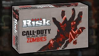 Official!! COD ZOMBIES BOARD GAME (Origins Staffs Play Pieces) Risk Zombies