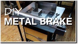 Video DIY Metal Brake for Bending Sheet Metal MP3, 3GP, MP4, WEBM, AVI, FLV Juni 2019