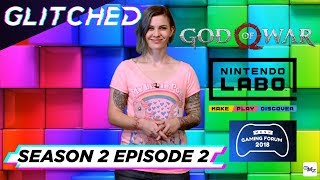 Watch the second episode of Glitched Season 2