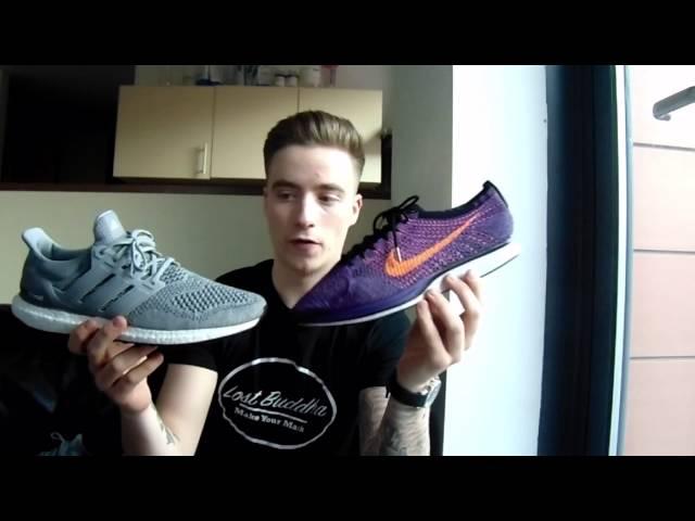 Nike Free Rn Flyknit Vs Adidas Ultra Boost
