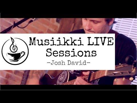 Musiikki LIVE Sessions - Josh David