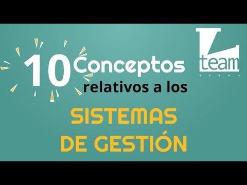 10 Conceptos Sistemas de Gestión