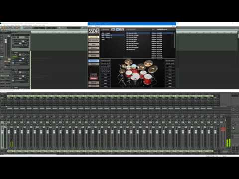 Samplitude ProX4: Steven Slate Drums SSD5 Multiple Outs