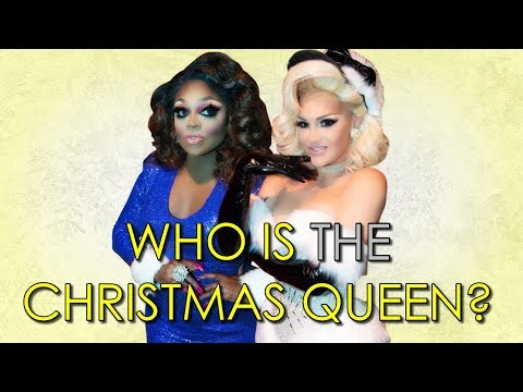 Who is the winner of the Drag Race Christmas Special?