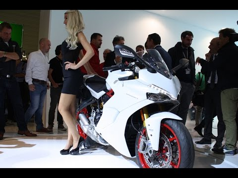 Ducati SuperSport S walkaround at Intermot