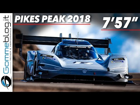 Volkswagen I.D. R Pikes Peak 2018 - RACE Clip and Interviews