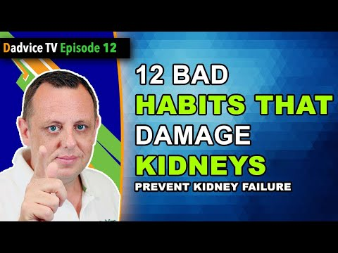 12 Bad Habits that can damage your kidneys, lead to chronic kidney disease or kidney failure
