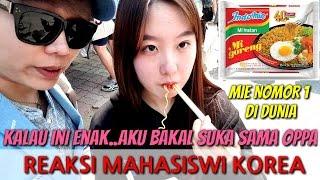 Video REAKSI ORANG KOREA MAKAN MIE GORENG INDONESIA MP3, 3GP, MP4, WEBM, AVI, FLV Maret 2018