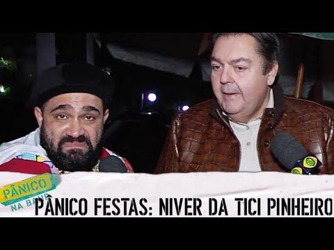 Pânico na Band - PÂNICO FESTAS: NIVER DA TICIANE PINHEIRO (C/ CHRISTIAN PIOR E PAULA AYALA)
