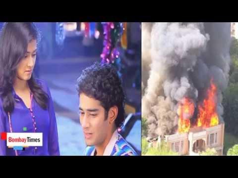 Tu Mera Hero Set Catches Fire Again