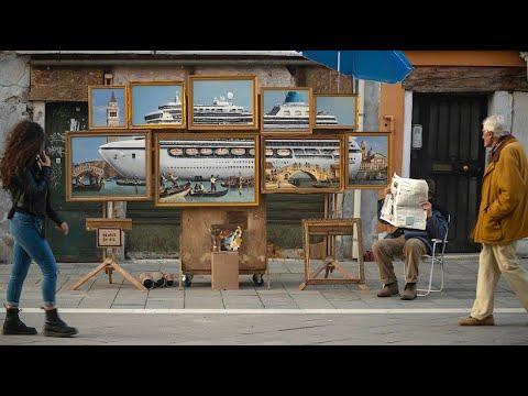 Ist Streetart-Künstler Banksy mit eigenem Stand in Ve ...