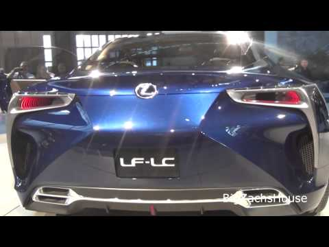 TOYOTA CONCEPT CAR - Lexus LF LC concept car at philly auto show 2013. They say they do not have plans to produce them but this sure is SWEET!! Could this be in the plans for the...
