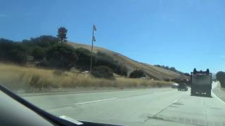 San Mateo (CA) United States  city pictures gallery : US 101 North (CA), Driving Road Trip into San Francisco, San Mateo to SF