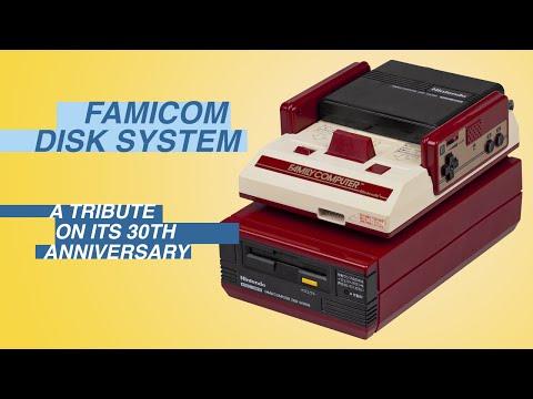 Famicom Disk System 30th Anniversary Demonstration: Zelda, Castlevania, Metroid, Otocky