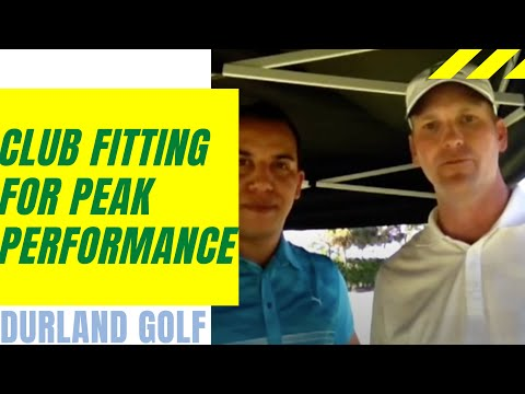 Naples Florida Golf Lesson – CLUB FITTING FOR PERFORMANCE