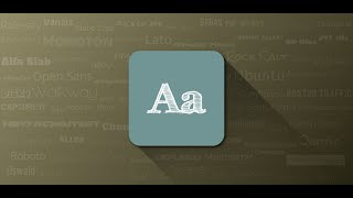 Video de Youtube de FontFix ― Install Free Fonts