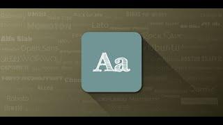 FontFix ― Install Free Fonts YouTube video