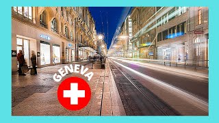 Geneva Switzerland  City new picture : GENEVA, the shopping district of the old city (SWITZERLAND)