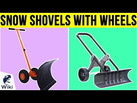 10 Best Snow Shovels With Wheels 2019