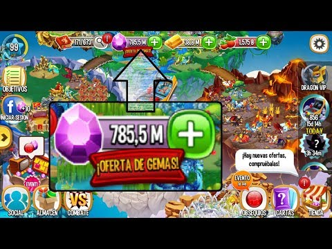 HACK DE 750.000.000 DE GEMAS PARA DRAGON CITY 2017 NUEVO!!!