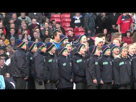 RLWC2013 Final Old Trafford Choir and Anthems