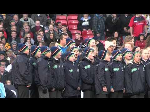 RLWC2013 Final Old Trafford Choir and Anthems