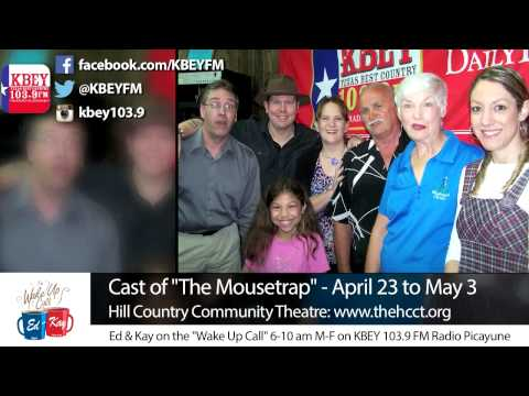 """""""The Mousetrap"""" Cast from Hill Country Community Theatre"""