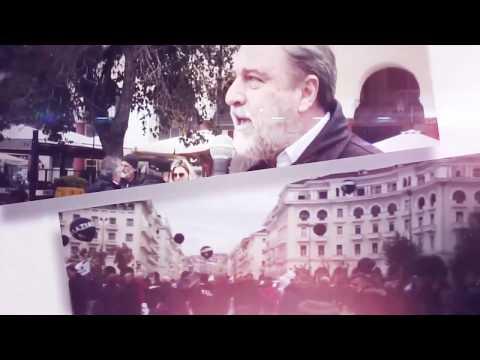 """Ο Νότης Μαριάς παρουσιάζει την Ιδρυτική Διακήρυξη του Κινήματος: ''ΕΛΛΑΔΑ-Ο ΑΛΛΟΣ ΔΡΟΜΟΣ"""" στη Θεσσαλονίκη"""