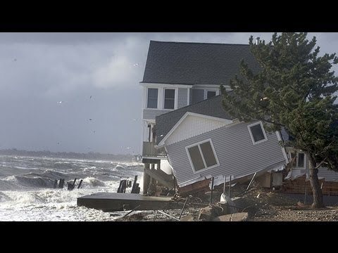 ThinkFastToys - Dramatic footage from across the US east coast captures the damage and chaos inflicted by Hurricane Sandy from New Jersey and Connecticut to Maryland and Vir...