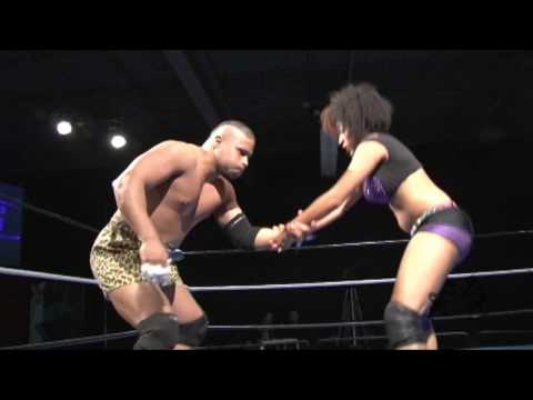 "Beyond Wrestling [Preview #1] Jaka vs. Marti Belle – ""Beyond vs. WSU"" Intergender Mixed Womens"