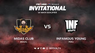 Midas Club против Infamous Young, Вторая карта, SA квалификация SL i-League Invitational S3