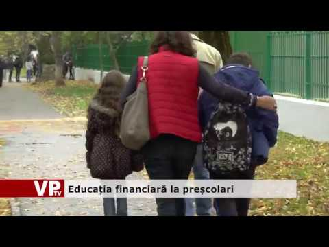 Educație financiară la preșcolari