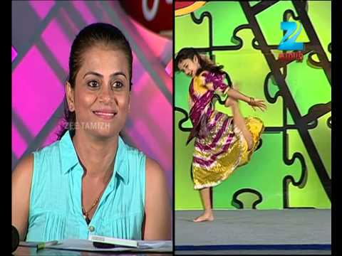 Dance Tamizha Dance Little Masters - Bhavya 23 July 2014 02 PM