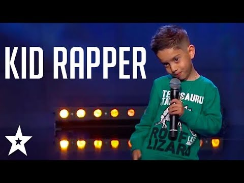 Video Kid RAPPER Gets GOLDEN BUZZER on Sweden's Got Talent | Got Talent Global download in MP3, 3GP, MP4, WEBM, AVI, FLV January 2017