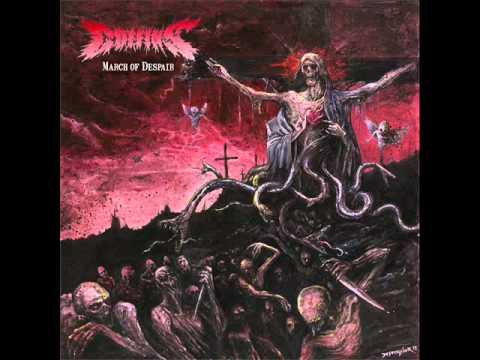 COFFINS - march of despair - PICTURE LP 2012 - (Hammerheart Records)