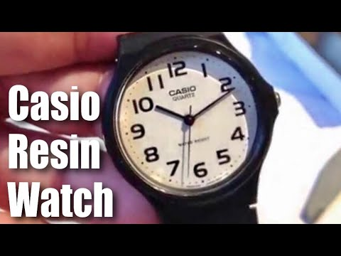, title : 'Casio Men's MQ24-7B2 Analog Black Resin Strap Watch unboxing and review'