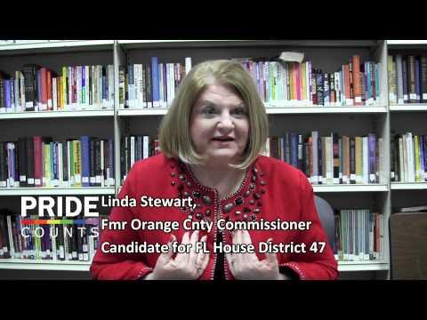 Linda Stewart Promotes Pride 2012