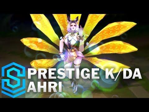 Ahri KDA Siêu Sao Hàng Hiệu - Prestige K/DA Ahri