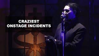 Video Marilyn Manson - Craziest Onstage Incidents   Rock Feed MP3, 3GP, MP4, WEBM, AVI, FLV Juni 2019