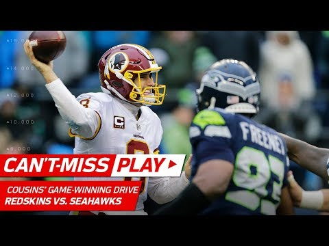 Video: Kirk Cousins Leads Clutch Game-Winning TD Drive vs. Seattle! | Can't-Miss Play | NFL Wk 9 Highlights