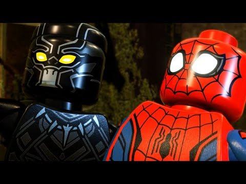 LEGO BLACK PANTHER SAVES THE DAY! - Lego Marvel Super Heroes 2 Gameplay Part 4