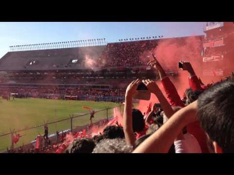Independiente 0-0 Patronato Fecha 42 recibimiento + desde el dia que naci (2014) - La Barra del Rojo - Independiente