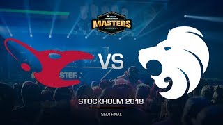 mousesports vs North - DH MASTERS Stockholm - map1 - de_dust2 [Godmint, SSW]